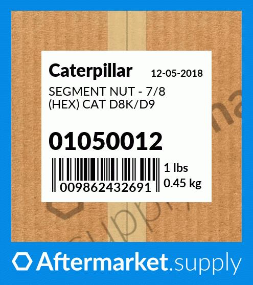 CAT 7H3609 Genuine Cat Parts NUT 1B4435 for Caterpillar