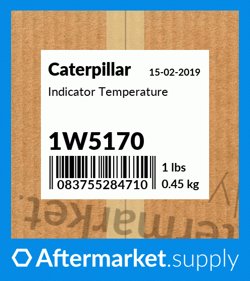 IndiFits CATor-Water Temp.Fits Caterpillar New 2005234 1W2864 1W3291 3S4824 Ship