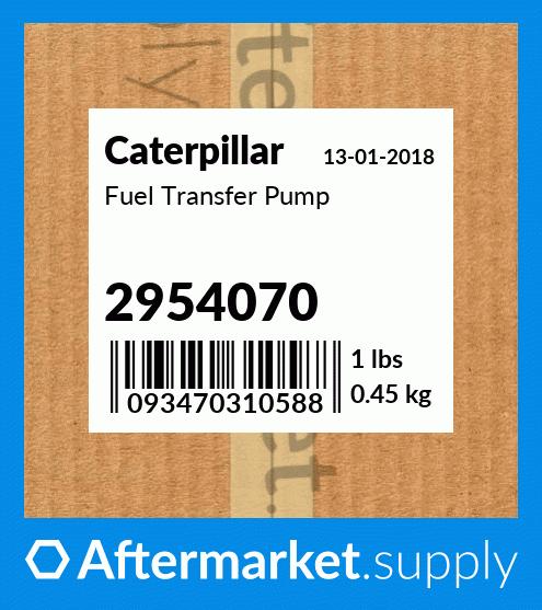 CAT PUMP AS fit CATERPILLAR 2954070