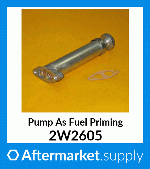 Diesel Hand Primer Pump on fits Caterpillar 2W2605 CAT 183-2823 1832823 8N0490 4