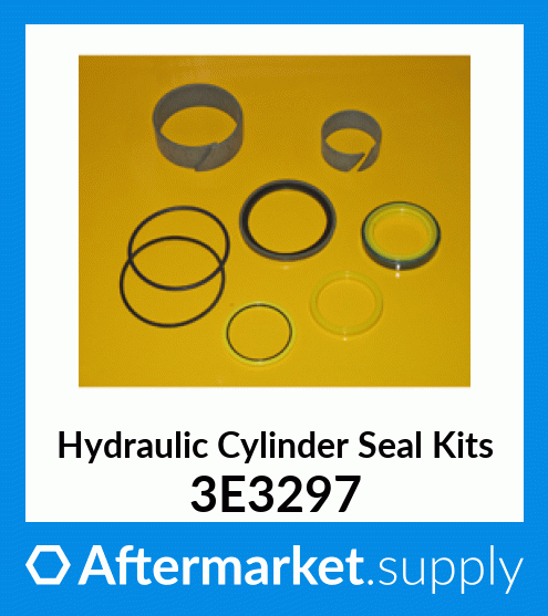 CAT Caterpillar 2465926 Aftermarket Hydraulic Cylinder Seal Kit by Kit King USA