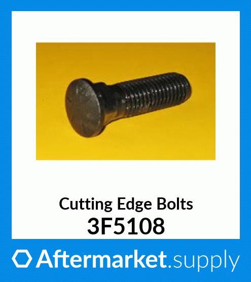 One OEM Caterpillar Cutting Edge Bolt /& Nut,1 Cat 3F-5108 Bolt,1 Cat 4K-0367 Nut