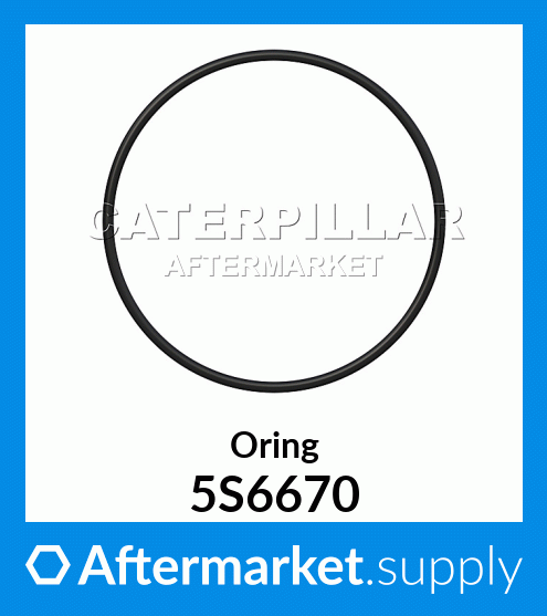 5S6670 CAT SEAL--CYLINDER LINER TO BLOCK  for Caterpillar