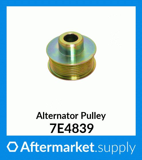 PULLEY-ALTERNATOR  for Caterpillar 7C3938 CAT
