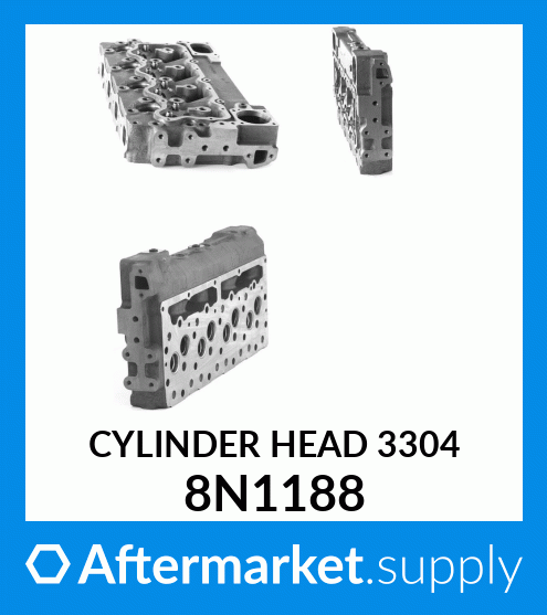 Cylinder Head 8N1188 for CAT Excavator 215 225 Engine 3304