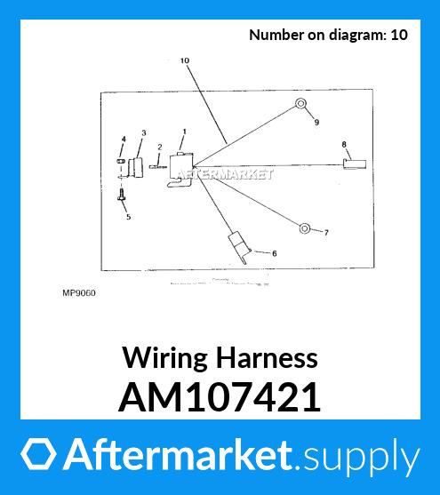 am107421  wiring harness