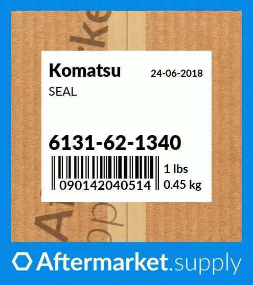 6131621340 SEAL WATER PUMP for Komatsu® 6131-62-1340