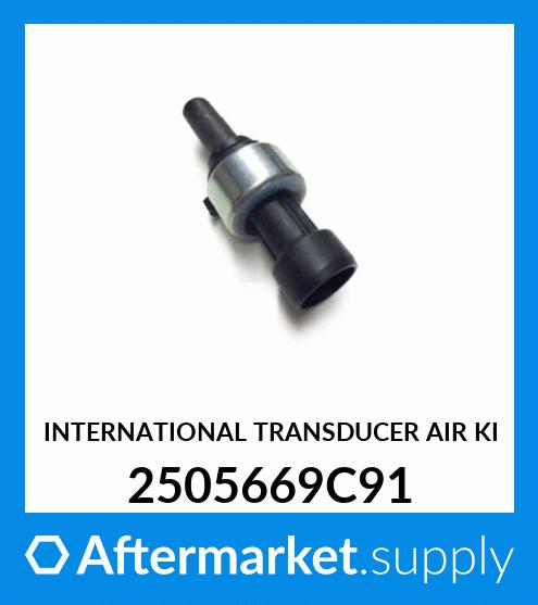 Bernard Bertha Air Pressure Sensor Transductor 5008677 5005758 Fit for Navistar Kenworth Peterbilt