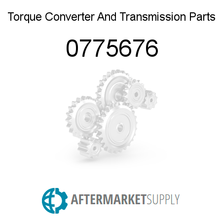 0775676 - Torque Converter And Transmission Parts