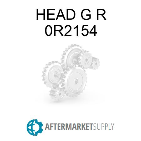 0R2154 - HEAD G R