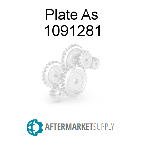 Plate As - 1091281