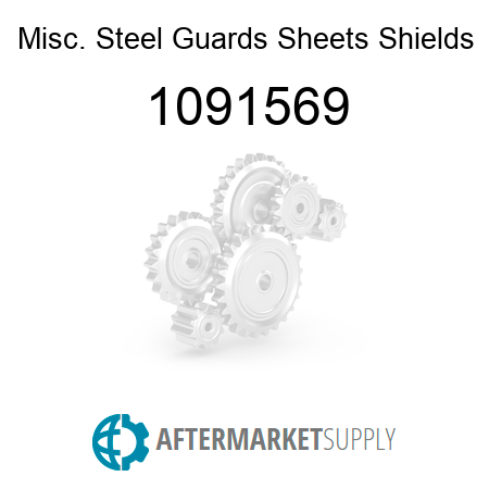 Misc. Steel Guards Sheets Shields 1091569