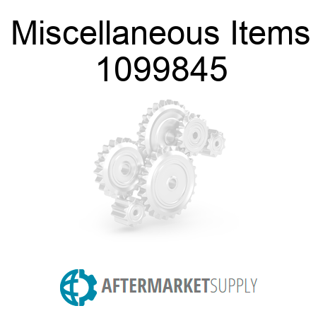 Miscellaneous Items - 1099845