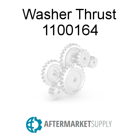 Washer Thrust - 1100164