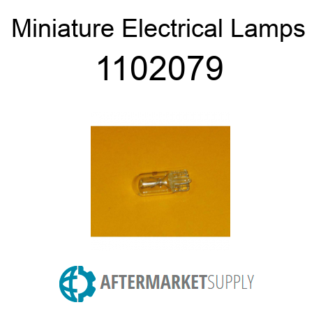 Miniature Electrical Lamps - 1102079