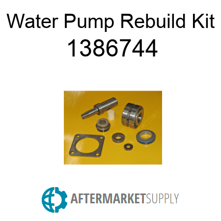 3777037 - Main Water Pump Rebuild Kit