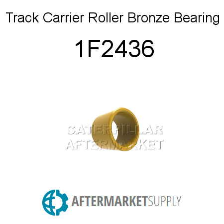Track Carrier Roller Bronze Bearing - 1F2436