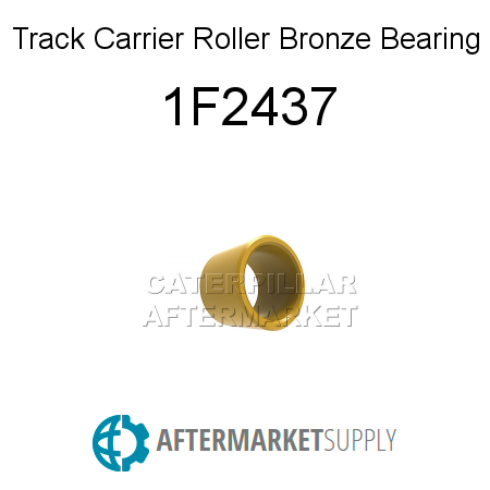 Track Carrier Roller Bronze Bearing 1F2437