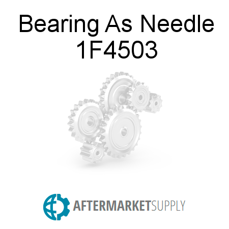 Bearing As Needle - 1F4503