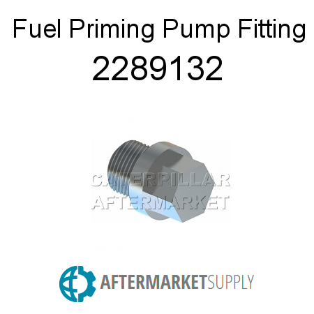 Fuel Priming Pump Fitting - 2289132