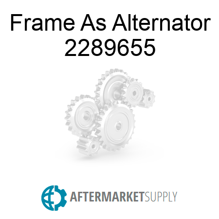 Frame As Alternator - 2289655
