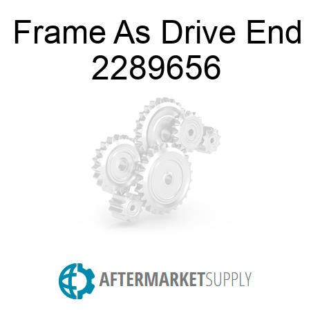 Frame As Drive End - 2289656