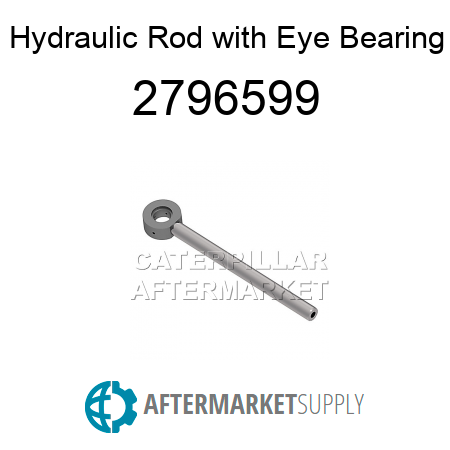 Hydraulic Rod with Eye Bearing - 2796599