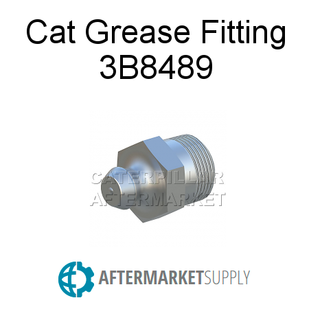 3B8489 - Cat Grease Fitting
