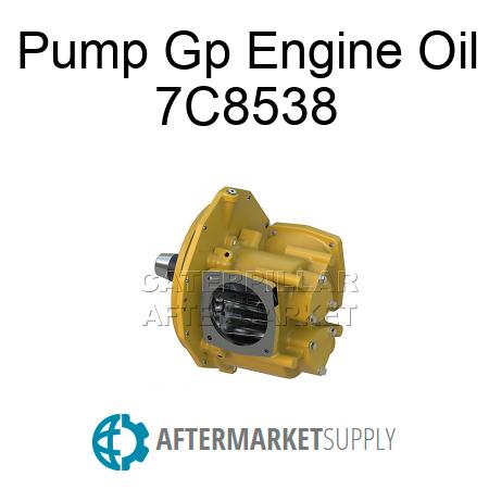 7C8538 - Pump Gp Engine Oil