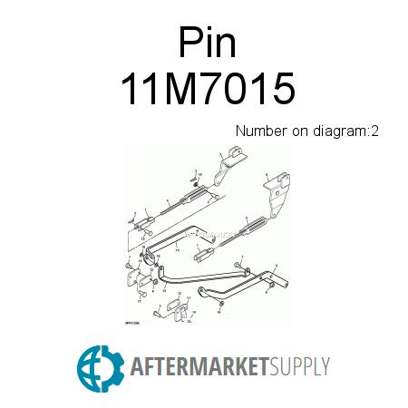 11m7015 Pin Fits John Deere Aftermarketsupply. John Deere Pin. John Deere. John Deere 1023e Parts Diagram Steering Cylinder Hose At Scoala.co