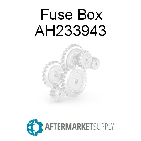 ah233943 fuse box fits john deere aftermarket supply rh aftermarket supply Fuse Box On John Deere 4450 2005 John Deere 5105 Fuse Box