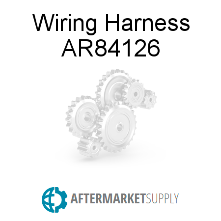 ar84126 wiring harness fits john deere aftermarket supply rh aftermarket supply