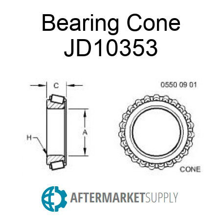 JD10353 on john deere front axle parts