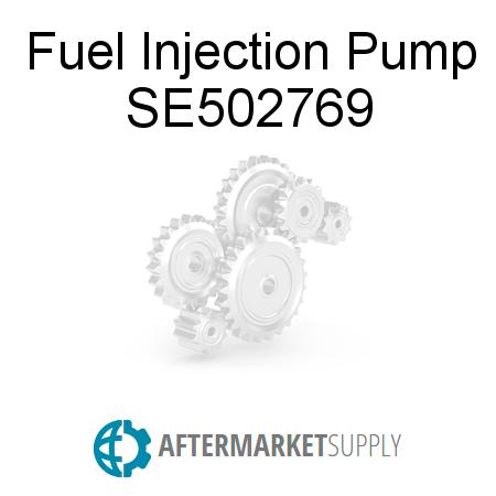 SE502769 - Fuel Injection Pump