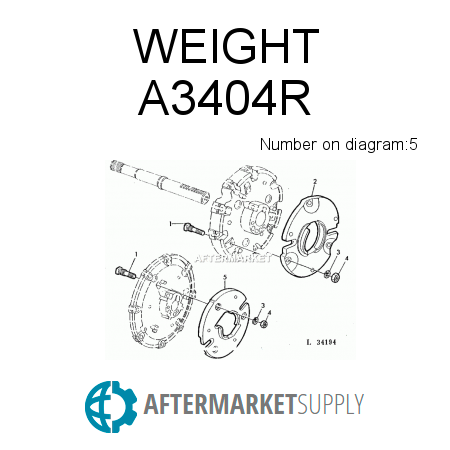 A3404R - WEIGHT