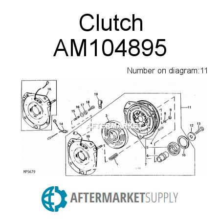 AM104895 - Clutch