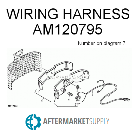 wiring harness am120795