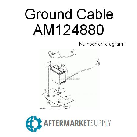 Am124898 Hydraulic Cylinder Fits John Deere