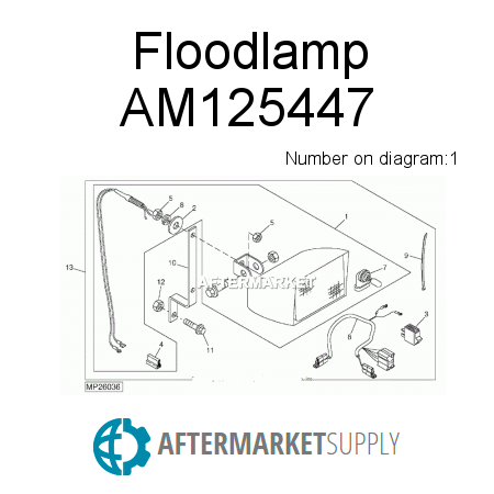 Am125461 Bracket Kit Fits John Deere Aftermarket Supply