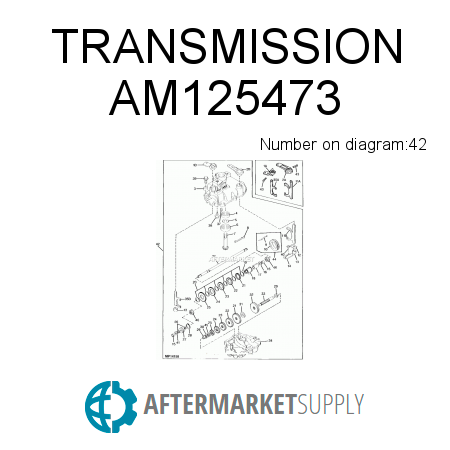 am125473.42.9bax450x450 am125473 transmission fits john deere aftermarket supply