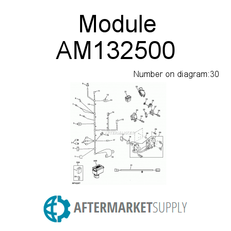 am132500 module fits john deere aftermarket supply rh aftermarket supply john deere gt235 wiring schematic John Deere 112 Wiring-Diagram