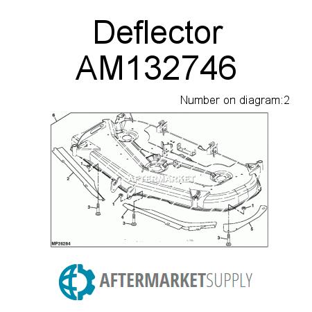 4310 John Deere Mower Deck Parts