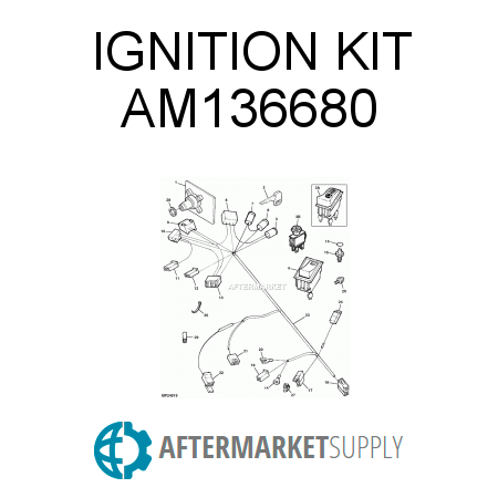AM136680 - IGNITION KIT on