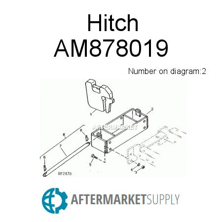 am878019.2.9f3x450x450 am878019 hitch fits john deere aftermarket supply