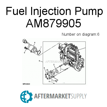 AM879905 - Fuel Injection Pump
