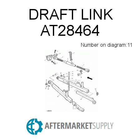 Lva16683 together with At28464 also John Deere 955 Parts Diagram also D2 Sawhead Belt together with Brokenlift. on john deere 3 point hitch parts