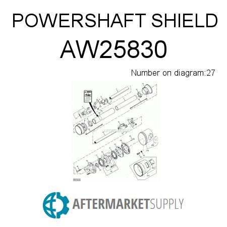 AW25830 - POWERSHAFT SHIELD