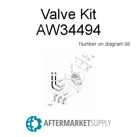 1 hydraulic spool control valve vickers hydraulic