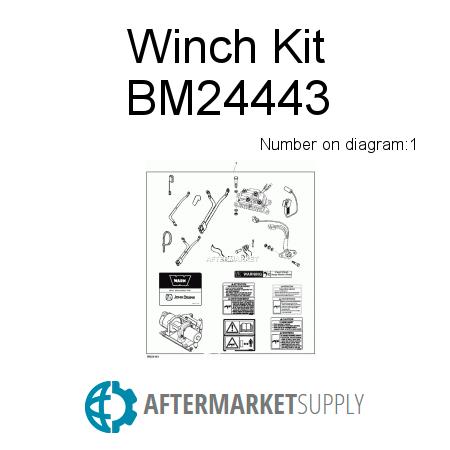 bm24443.1.ffax450x450 bm24443 winch kit fits john deere aftermarket supply