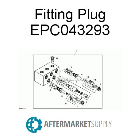 Fitting Plug EPC043293